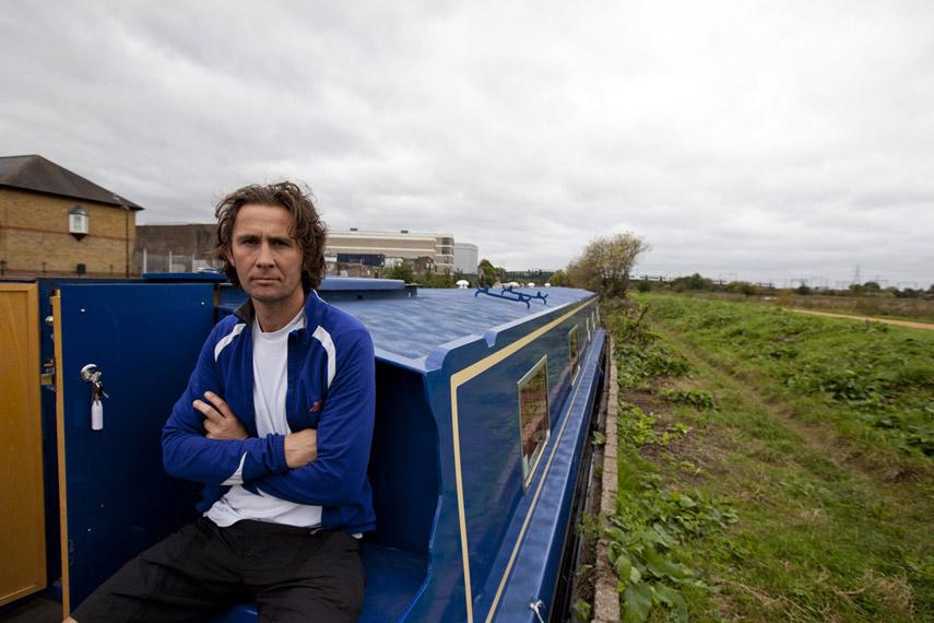 Peter, New Resident, River Lea, 2011