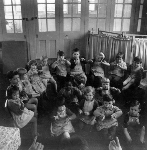 Interior of Low Hall Nursery School in 1963