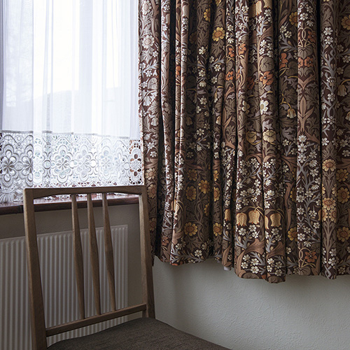 At Home with Morris (Curtains)