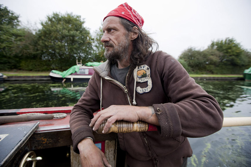 Dominique, Delivering Coal on an 1898 Narrow Boat, 2011