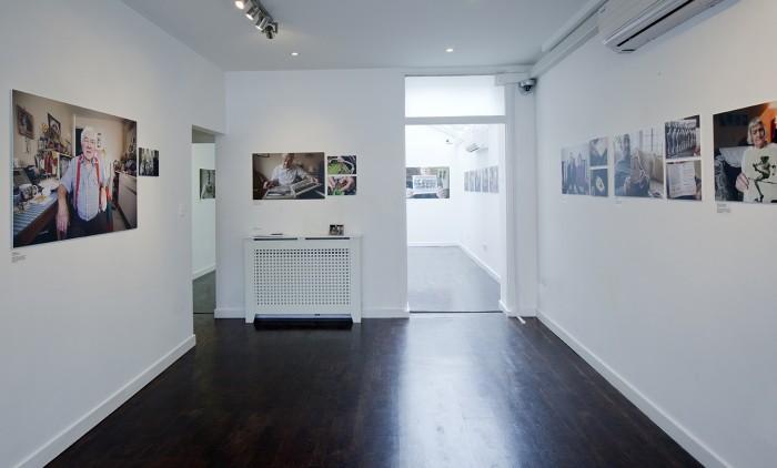 Installation at Torkarska Gallery, London