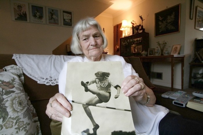Dorothy Tyler (Silver medalist, high jumper 1936, 1948, and 1952 Olympics)