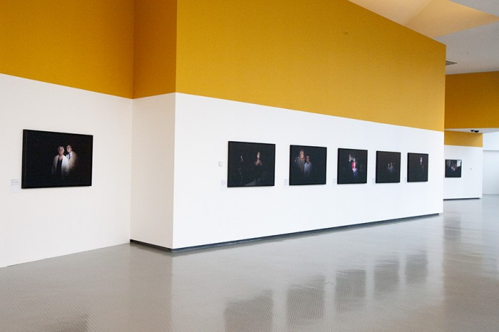 Installation view, Centre Stage, The Lowry