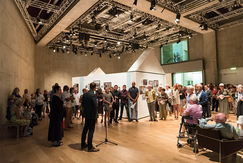 Exhibition opening at Nottingham Contemporary