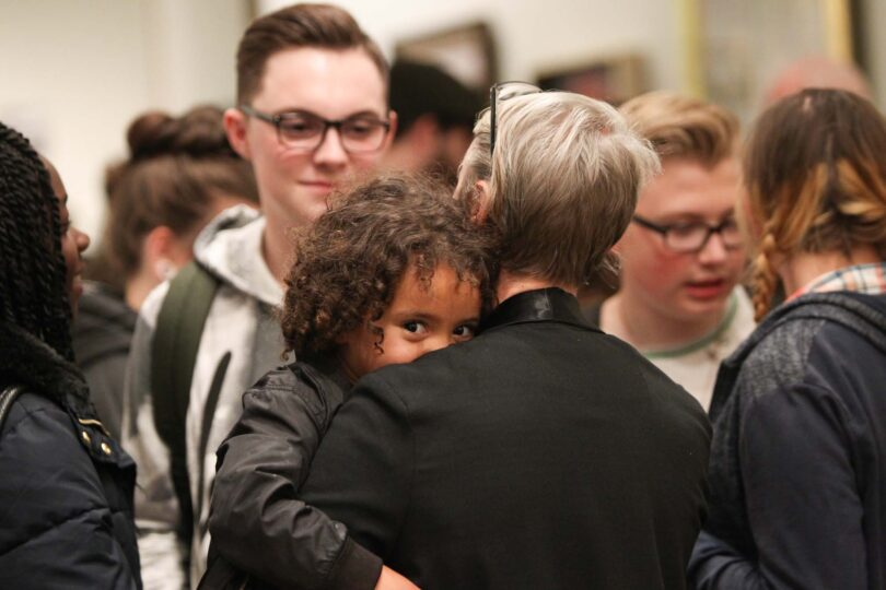 Exhibition opening at National Portrait Gallery