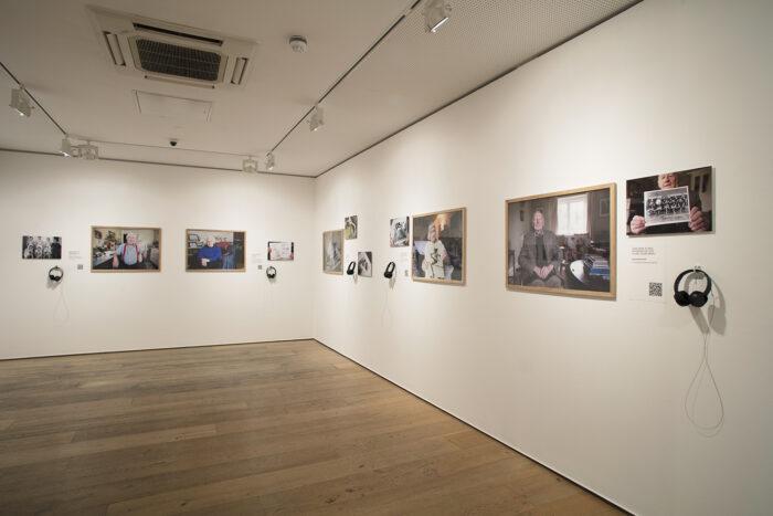 Open Eye Gallery 'A Portrait of...' Install 2019